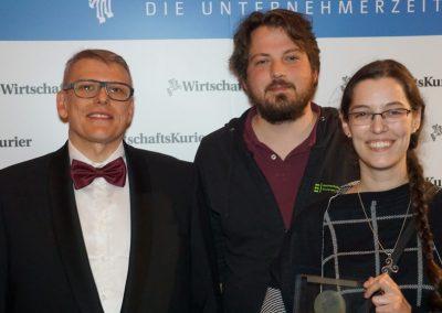 Andreas Zimmermann, Anika Ochsenfahrt und Philipp Zajac